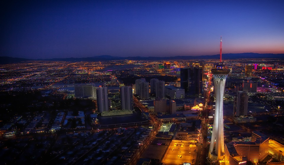 Stratosphere tower v Las Vegas